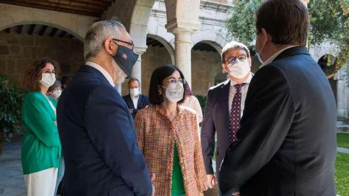 declaración de alerta sanitaria nivel 1 para Extremadura