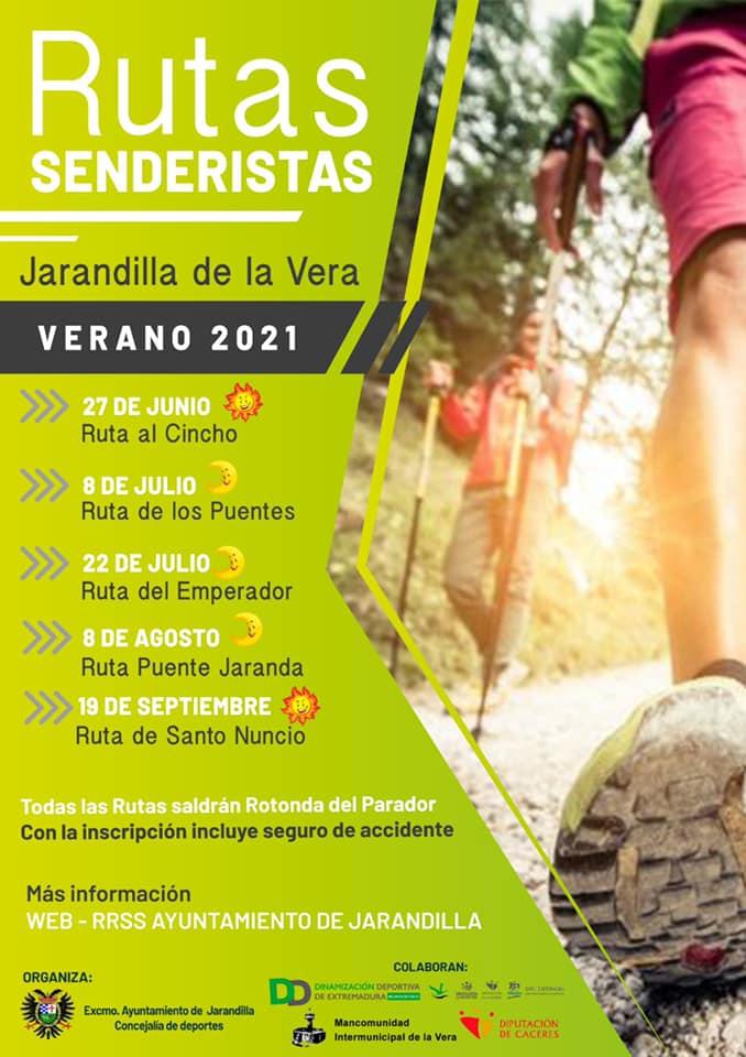 Rutas Senderistas Jarandilla 2021