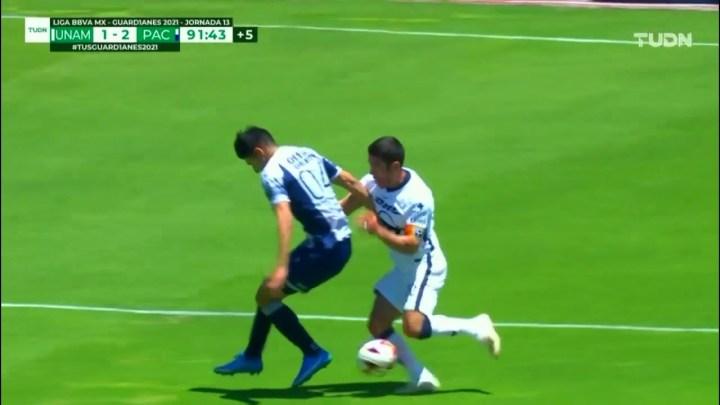 Pumas en la Liga MX: Juan Ignacio Dinenno y Nicolás Freire, en el ojo de la tormenta