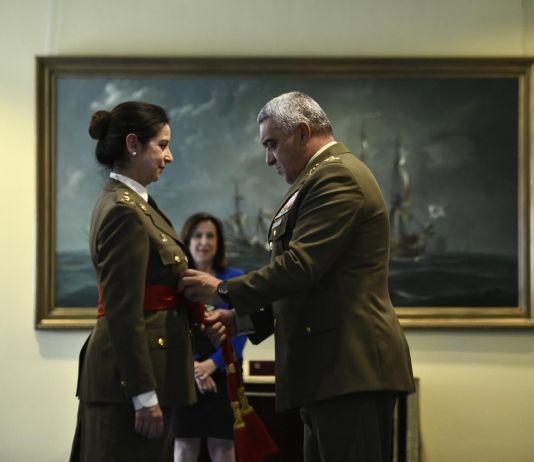 Patricia Ortega, primera mujer general de las Fuerzas Armadas
