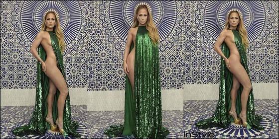Jennifer López presume su gran cuerpo en Instyle