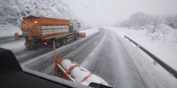 autovia A-6, camiones, A-52, problemas, nieve,