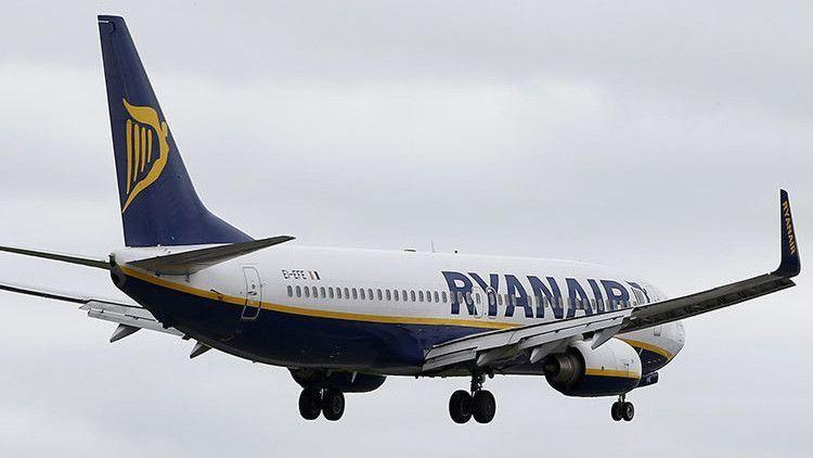 Ryanair Europa, 7º mayor contaminador aviación,