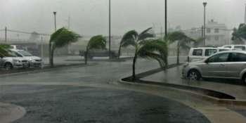11, provincias, riesgo, lluvias, fenómenos, costeros,