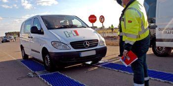 campaña., inspección, furgonetas, transporte, ilegal,