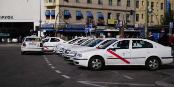 taxistas, taxi, compartido, Madrid,