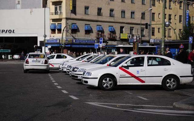 taxistas, taxi, compartido, Madrid,