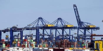 carga, radiactiva, puerto, Valencia, camiones, gravedad,