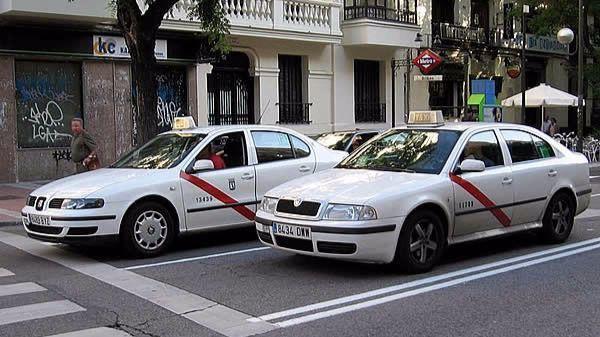 taxistas, Madrid, taxi, compartido,