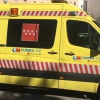 Herido muy grave un camionero tras quedar atrapado entre dos camiones