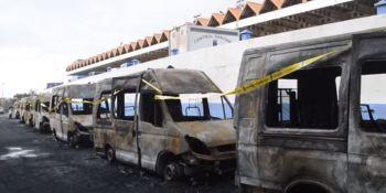 Ambulancias quemadas Canarias