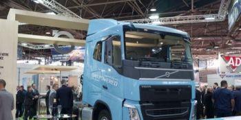 Volvo, diesel, gas, combinación,