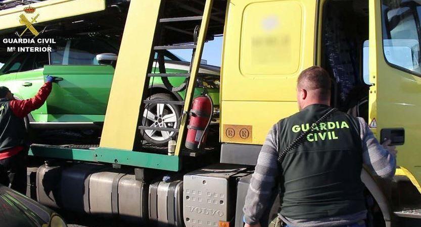 detenido, puerto, Tarragona, camionero, robo,