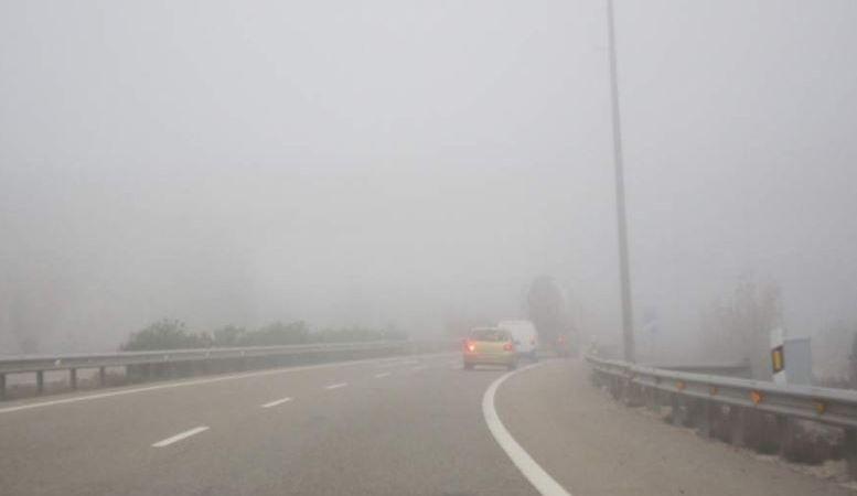 niebla, condiciona, circulación, carreteras, Castilla y León,