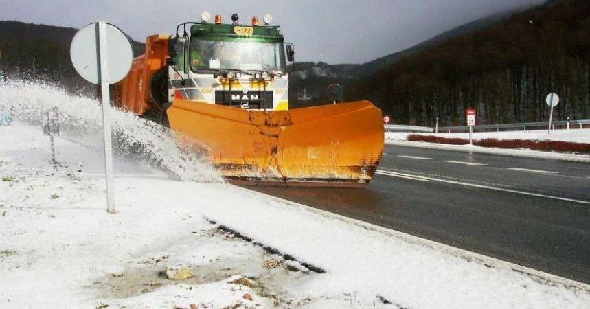 Nieve, carreteras, estado,
