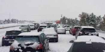 multa, concesionaria, atrapados, nieve, miles, usuarios, autopistas,