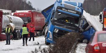 Brno, República, Checa, accidente, múltiple,