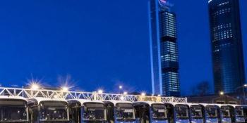 EMT, Madrid, autobuses, conductores, escritores, eléctrico, híbrido,