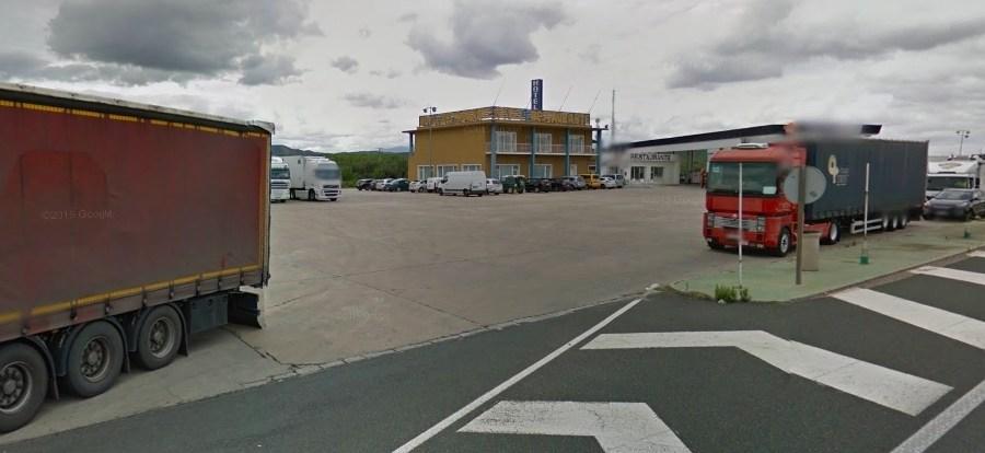 camiones, salir, N-232, restaurantes, reparaciones, posibilidad, acuerdo,