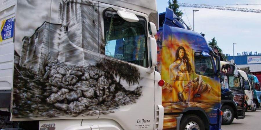 envianos, foto, camión, premio, decorado, Diario de Transporte,