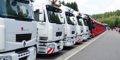 monitoreo, gestión, Drivin, flotas, empresas, camiones, conductores,