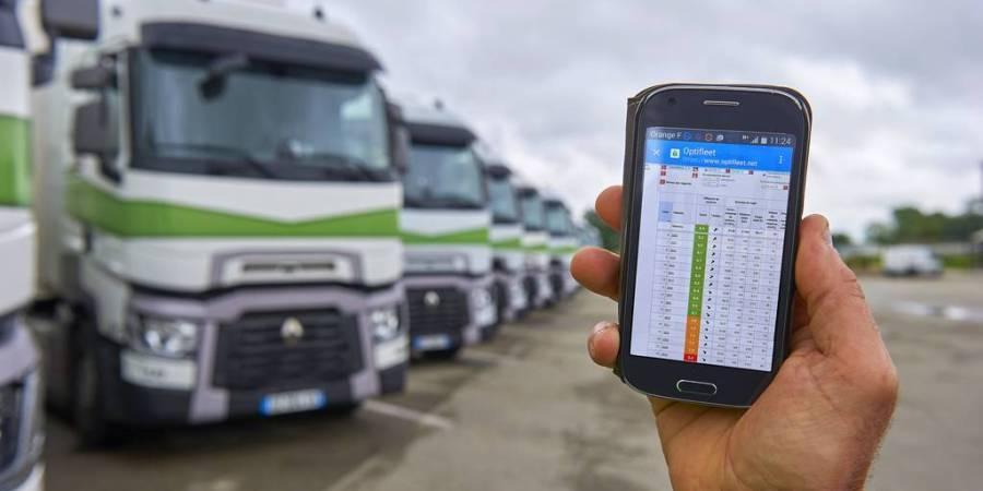 Optifeet, gestión, flotas, Renault, gestores, empresas., ahorro, combustible,