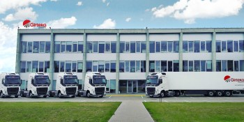 Girteka Logistics, camiones, 10.000, 2.021, Foro, Londres,
