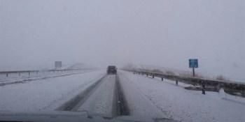 El temporal de frío y nieve puede afectar a la circulación en vías de alta capacidad, avisa la DGT