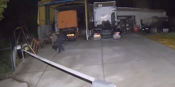 robo, baterías, camiones,