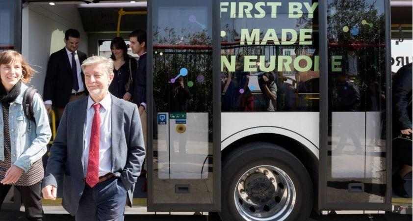 Zaragoza, pionera, autobuses, eléctricos, híbridos,