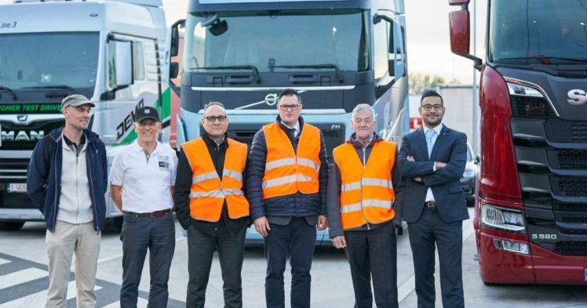 eurodiputados, conocer, estacionamiento, seguro, camioneros