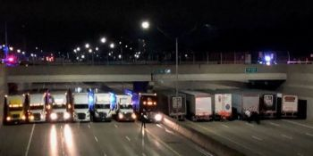 trece, camioneros, salvan, vida, hombre, suicidarse.