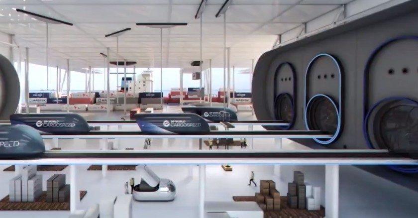 Richard Branson, Hyperloop, transporte, mercancías, Emiratos Árabes,