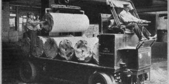camiones, eléctricos, 1912, todavía, funcionan,