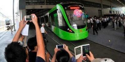 China, transporte, público, sin conductor, vanguardia, tecnología,
