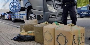 detenido camionero, droga, destino, Francia,