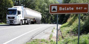 amplían, restricciones, camiones, finalicen, obras, túneles, Belate, Almandoz,