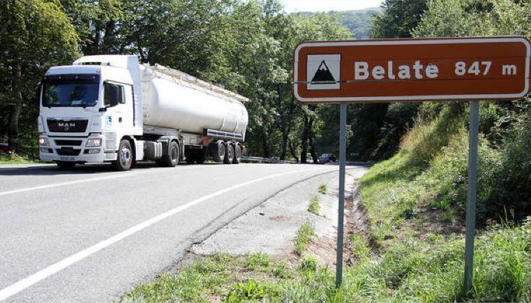 N-121-A, 200, multa, camioneros, incumplan, restricciones,