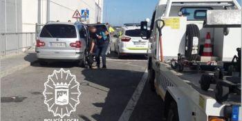detenido, taxista pirata, Málaga, matricula,