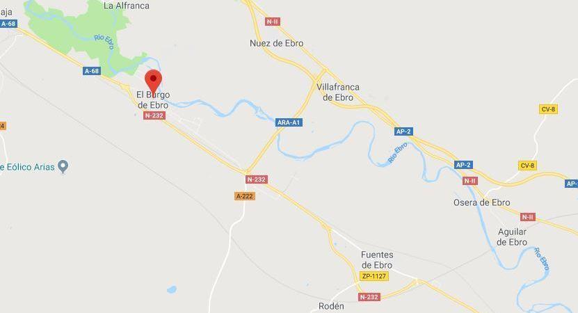 aprobado, tramo, A-68, Fuentes de Ebro, El Burgo de Ebro,