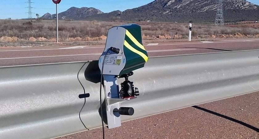 mini, radares, velolaser, ubicación, dispositivos,