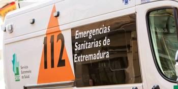 dos, heridos, vuelco, camión, A-66, Cáceres,