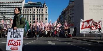 ITF, apoyo, sindicatos, huelga general, Argentina, convocatoria,