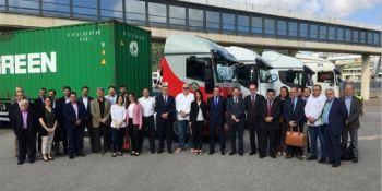 gas natural, emisiones, camiones, Puerto de Barcelona,