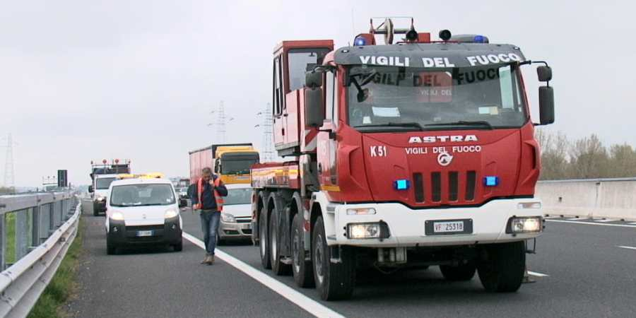 fallece, camionero, colisión, camiones,