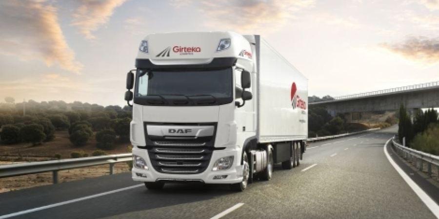 Girteka Logistics, compra, DAF XF,