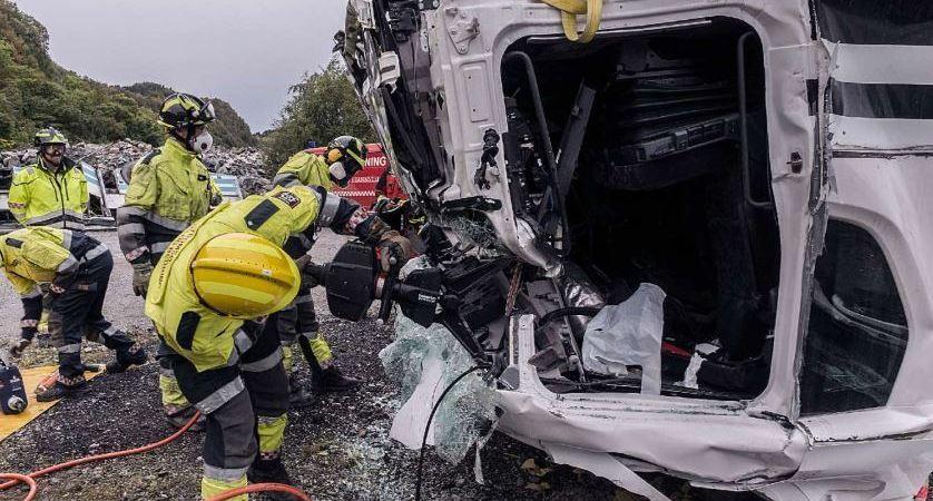 cabinas, Scania, rescate, bomberos, emergencias, accidentes,