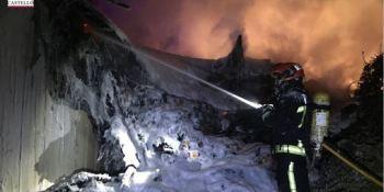 fallece, camionero, vehículo, incendió, Nules, AP-7