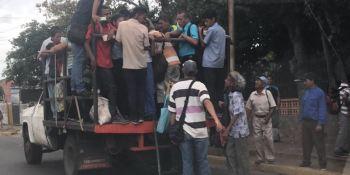 perreras, último, indignante, medio, transporte, Venezuela,