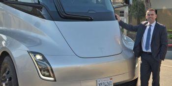 Tesla Semi, prueba, camiones, clientes,